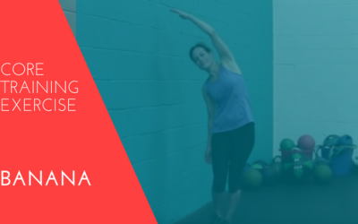 At-Home Core Training Exercise – Banana