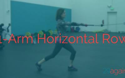 1-Arm Horizontal Row